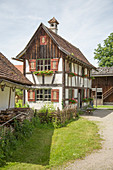Half-timbered farmhouse