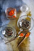 Marigold tea