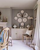 Decorative plates wall mounted