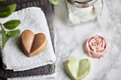 Handmade, natural soaps