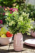 Bouquet of privet flowers
