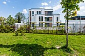villa in a modern architecture style, Brandenburg, Germany
