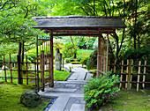 Japanischer Garten, Portland, Oregon, USA