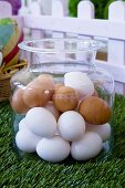Eggs in a jar (Easter decoration)