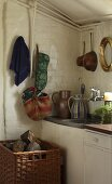 A kitchen in a country house
