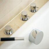 Designer bath taps