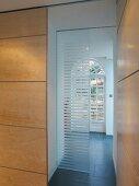 Hallway leading to front door