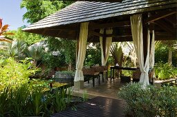 Pavilion at the Hotel and Ayurveda Spa Shanti Maurice (Mauritius)