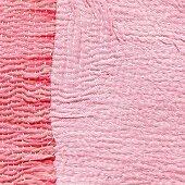 Pinkfarbene Stoffe (bildfüllend)