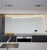 Point 7, Winchester, United Kingdom. Architect: Dan Brill Architects, 2014. Kitchen counter with integrated sink