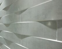 3D structured wall tiles (close-up)