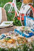 Informal summer picnic