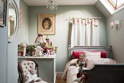 Classic English child's bedroom