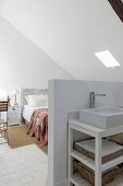 Schlafzimmer und Bad-Ensuite im Dachgeschoss