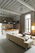 Loft mit Zwischenetage und offenem Wohnraum