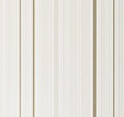 Beige-coloured striped non-woven wallpaper