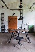 Rustic lamp workshop
