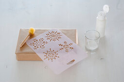 Design Christmas paper yourself