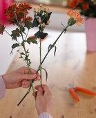 Tie autumn bouquet