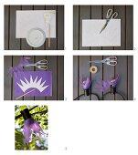 Lampenschirmchen aus Transparentpapier für Lichterkette basteln