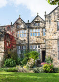 Historical, English-style stone mansion