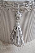 Tassel and decorative trim made from corrugated cardboard