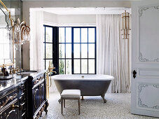 French baroque style bathroom