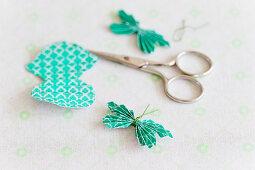 DIY-Schmetterling aus Papier