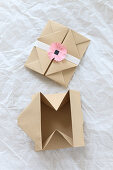 Origami envelope and gift box