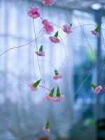 Blüten-Draht als Deko
