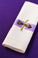 Linen Napkin with Button