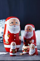 Father Christmas Russian dolls