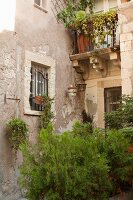 Street Scene on Ortigia Island in Siracusa, Sicily