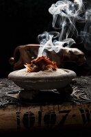 Burning mace (incense)