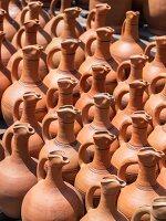 Clay wine jars in Georgia, Caucasus.