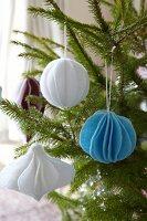 Felt Christmas tree baubles