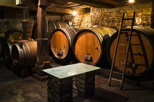 In diesem Weinkeller wird auf Zuchthefe verzichtet, Jean Pierre Rietsch, Mittelbergheim, Elsass