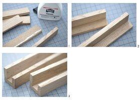 Bilderleisten aus Holz selbermachen