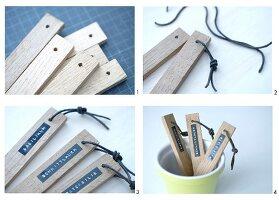 Pflanzenstecker aus Holzleisten selbermachen