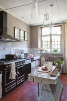 Kitchen in vintage French style
