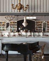 Bar in restaurant Grand Africa Café & Beach, Cape Town, South Africa