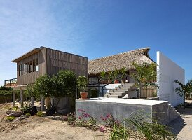 Architect-designed house combining traditional and modern elements