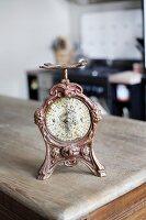 Ornate, antique kitchen scales