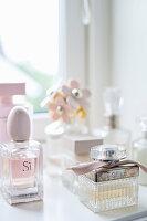 Various perfume bottles