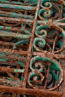 Rusty vintage lattice