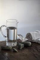 Activated flint water (detoxifying)