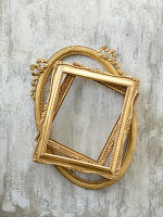Antique gilt picture frames