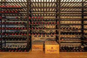 Details in wine cellar