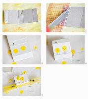 Anleitung für eine mit Küken bemalte Schachtel