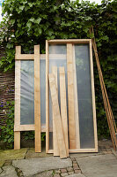 Side panels for tomato greenhouse
